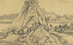 Dwelling in the Fu-ch'un Mountains (Wu-yung Version)
