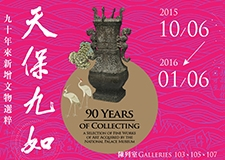 90 Years of Collecting: a Selection of Fine Works of Art Acquired by and Donated to the National Palace Museum