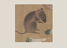 Amusing series 03: Three dining mice