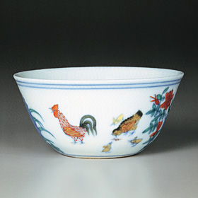 Tou-ts'ai Cup with Chickens