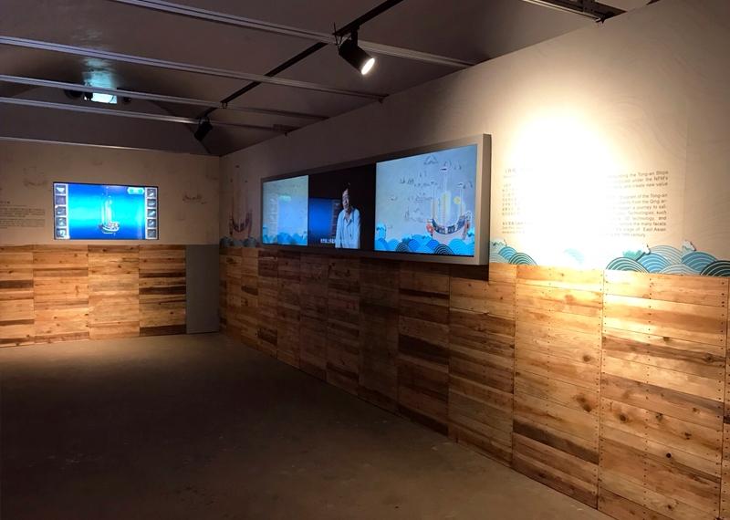 Rebuilding the Tong-an Ship New Media Art Exhibition—Penghu Tour