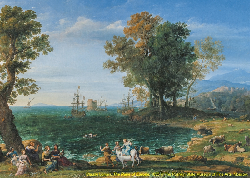Masterpieces of French Landscape Paintings from The Pushkin State Museum of Fine Arts, Moscow