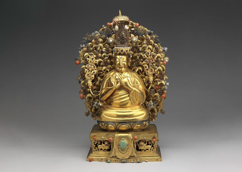 The Four Reincarnated Masters of Mongolian and Tibetan Buddhism