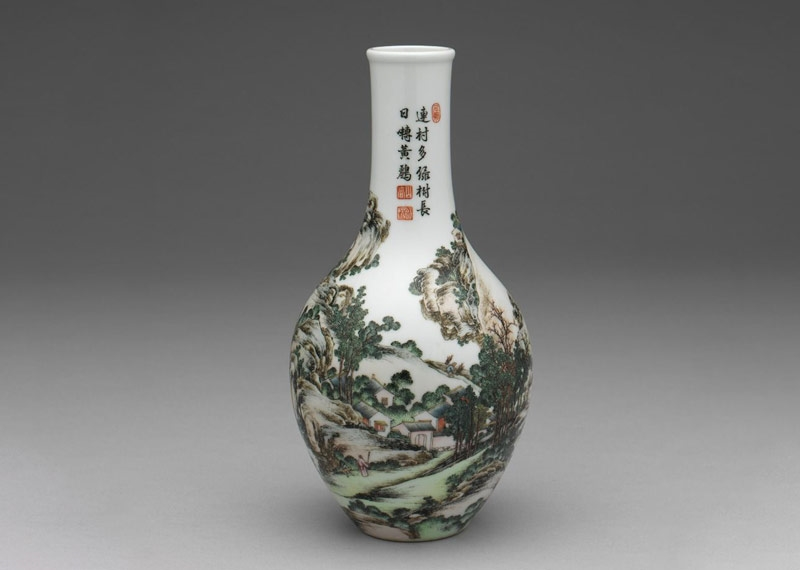 Story of an Artistic Style: Imperial Porcelain with Painted Enamels of the Qianlong Emperor
