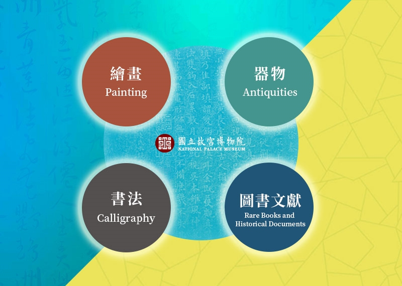 Exhibition-related promotional materials for the National Palace Museum in 2020