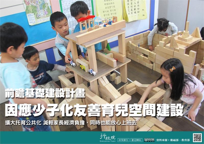 前瞻基礎建設計畫─因應少子化友善育兒空間建設