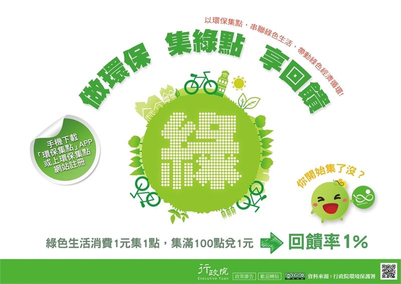 做環保集綠點享回饋
