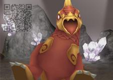 3D數位資源系列:鳥首獸尊-QR code