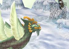 3D數位資源系列:玉魚龍- QR code